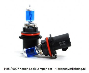 HB5 / 9007 Xenon Look Lampen Set