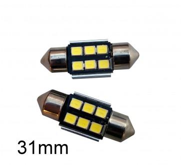 LED Kenteken- en Binnenverlichting 31mm C5W set