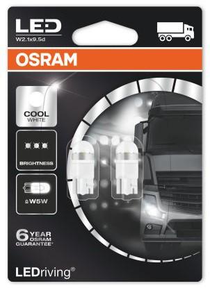 Osram LEDriving PREMIUM White W5W/T10 24V