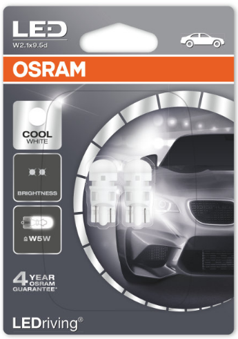 Osram LED Retrofit Cool White W5W/T10 (2880CW-02B)