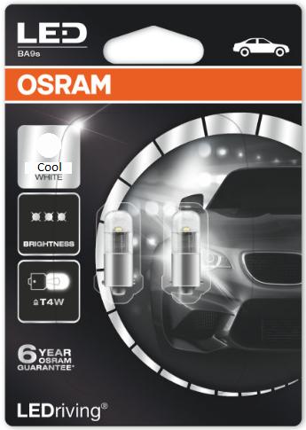 Osram T4W/BA9S LED Premium Retrofit White SET 12V (3850CW-02B)