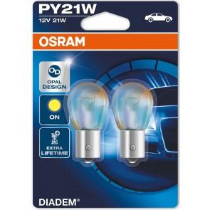 Osram PY21W / BAU15S Diadem  (7505 LDA) SET