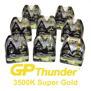 GP Thunder Retro Look (Geel) 3500K set
