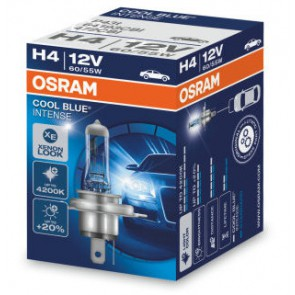 Osram Cool Blue Intense H4 Halogeen Lamp P43t  (64193CBI)