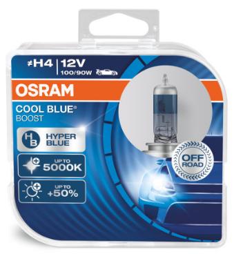 Osram Cool Blue Boost H4 Halogeen Lamp (62193CBB-HCB)