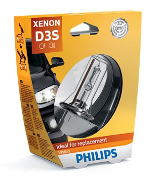 Philips Vision D3S Xenon Lamp (42403VIC1)