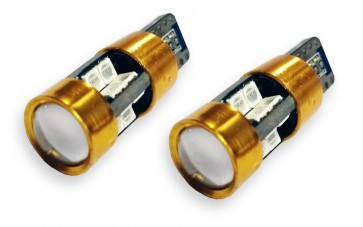 T10 / W5W Can-Bus Oranje LED set