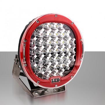 LED verstraler 96W CREE Power (Rood) (Voor vrachtwagen, Tractor, etc.)
