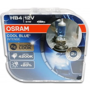 Osram Cool Blue Intense HB4 / 9006 Halogeen Lamp (9006CBI-HCB)