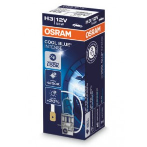 Osram Cool Blue Intense H3 Halogeen Lamp PK22s (64151CBI)