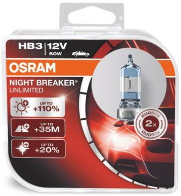 Osram Nightbreaker Unlimited HB3 (9005NBU-HCB)
