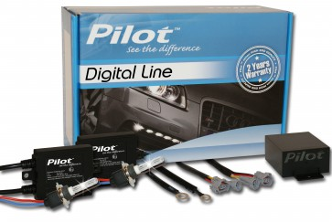 Pilot Bi-Xenon Kit H4, Digital Line