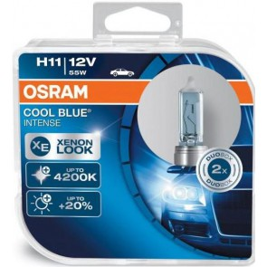 Osram Cool Blue Intense H11 Halogeen Lamp PGJ19-2 (64211CBI)