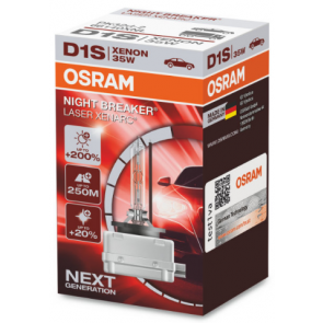 Osram Xenarc Night Breaker Laser D1S Xenon Lamp (66140XNL)