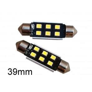 LED Kenteken- en Binnenverlichting 39mm C5W set