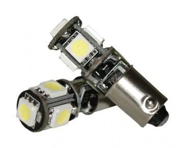 BA9S / H6W Stadslicht 5SMD LED set
