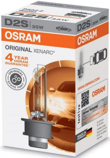 Osram Xenarc D2S Xenon Lamp (66240)