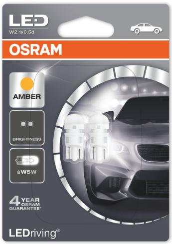 LED Retrofit Oranje W5W/T10 (2880R-02)