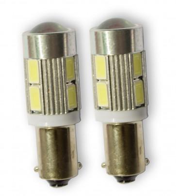 BA9S / H6W Stadslicht 10SMD LED set