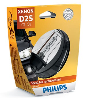 Philips Vision D2S Xenon Lamp (85122VIC1)