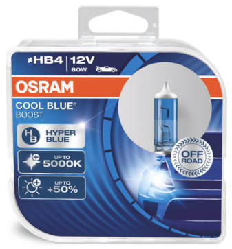 Osram Cool Blue Boost HB4 Halogeen Lamp (69006CBB-HCB)