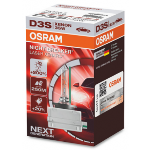 Osram Xenarc Night Breaker Laser D3S Xenon Lamp (66340XNL)