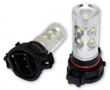 PS24W H16 Mistlamp CREE LED set