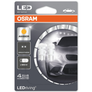 LED Retrofit Oranje W5W/T10 (2880R-02)