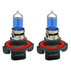 H13 Xenon Look Lampen Set