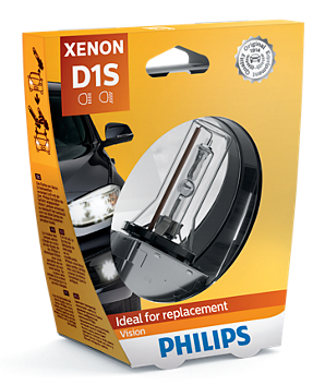 Philips Vision D1S Xenon Lamp (85415VIC1)