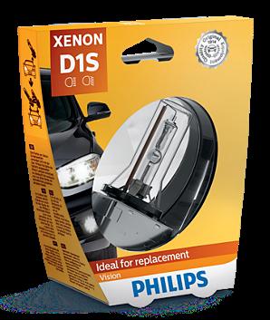 Philips Vision D1S Xenon Lamp (85415VIC1)